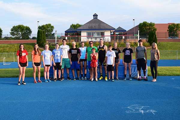 Kangaroo Track Club high jump camp