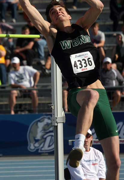 Jeff Giannettino High Jump
