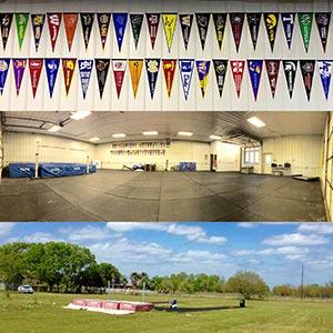 Kangaroo Track Club High Jump Indoor and Outdoor Facility