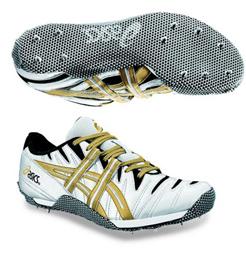 Asics High Jump Shoes Cyber Model