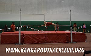 Kangaroo High Jump Club at the Joe Deloach HS Meet