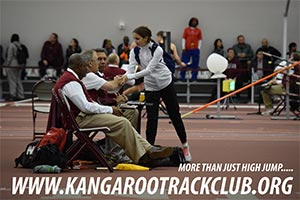 Kangaroo High Jump Club at the Texas A&M HS Meet