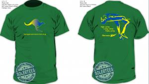 High Jump T-Shirt Kangaroo Track Club