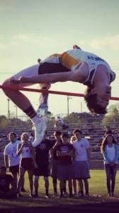 Damon Guidry , high jumper from Louisiana